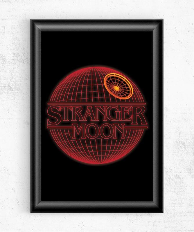 Stranger Moon Posters by Dr. Monekers - Pixel Empire