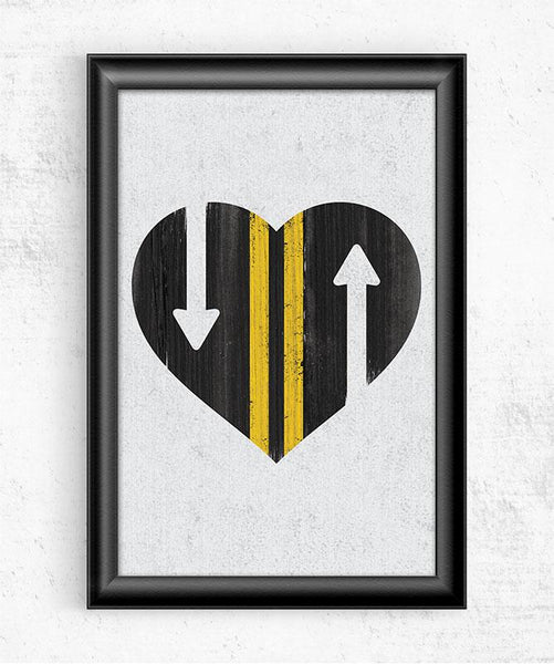 Love Is A Two Way Street Posters by Perry Beane - Pixel Empire