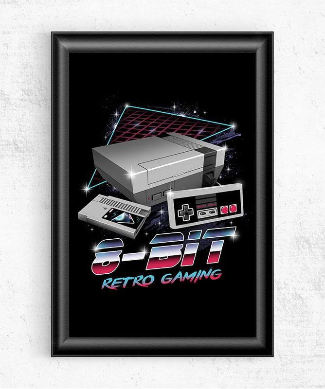 8-Bit Retro Gaming Posters by Vincent Trinidad - Pixel Empire