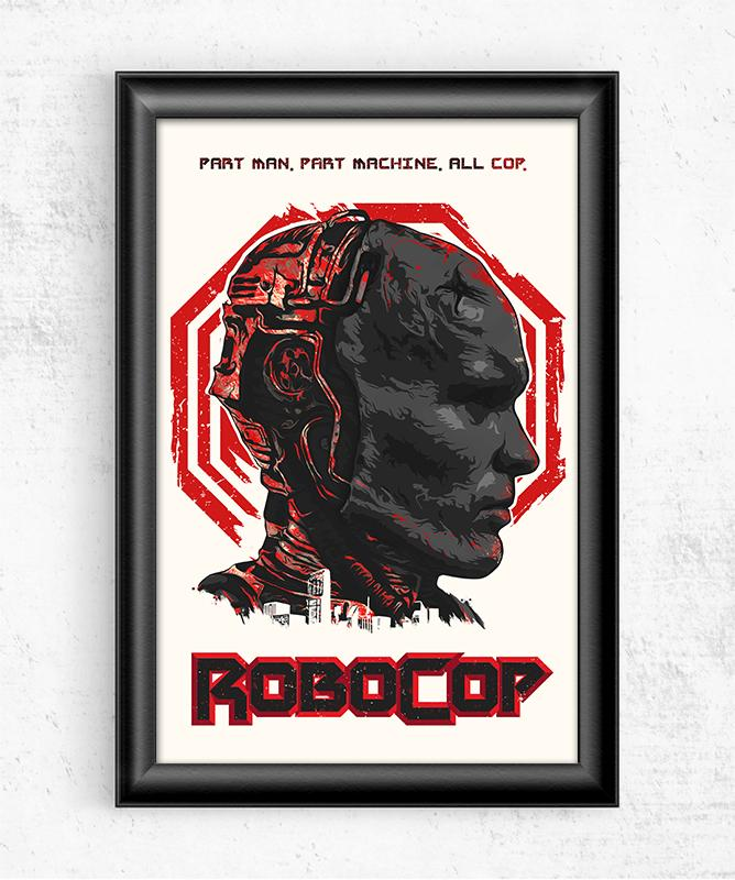Robocop Posters by The Usher Designs - Pixel Empire