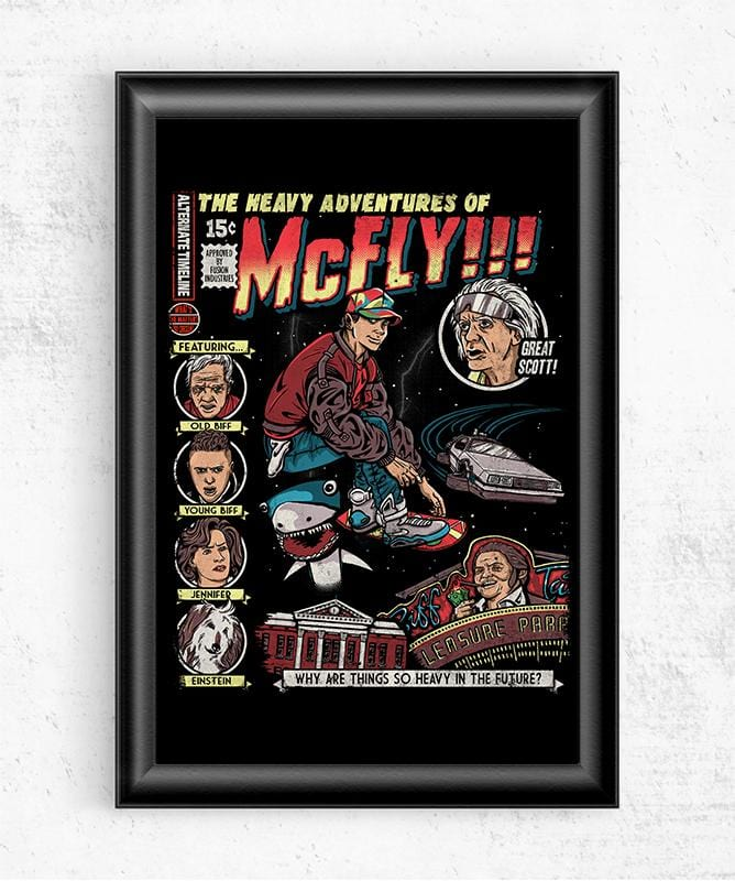 Heavy Adventures Posters by COD Designs - Pixel Empire