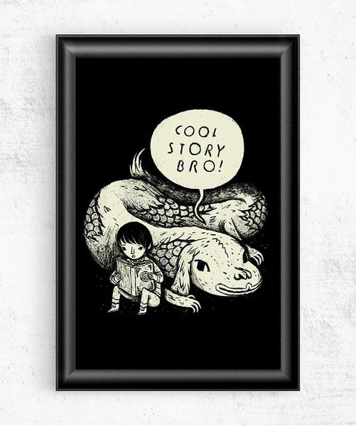 Cool Story Bro Posters by Louis Roskosch - Pixel Empire