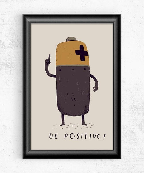 Be Positive Posters by Louis Roskosch - Pixel Empire