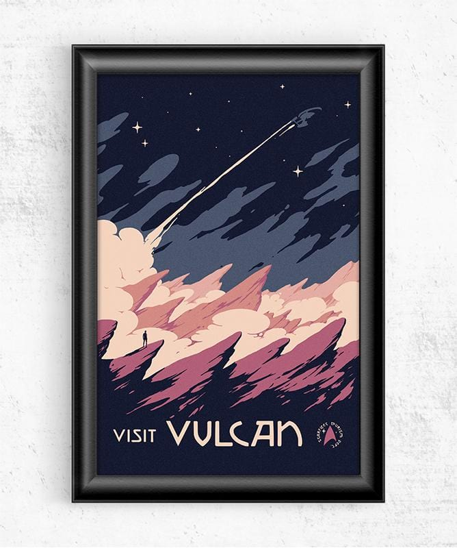 Visit Vulcan Posters by Mathiole - Pixel Empire
