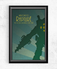 Welcome to Rapture Posters by Dylan West - Pixel Empire