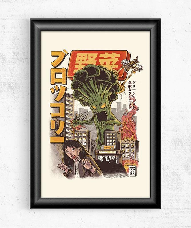Broccozilla Posters by Ilustrata - Pixel Empire