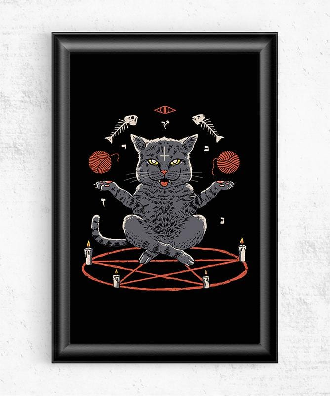 Devious Cat Posters by Vincent Trinidad - Pixel Empire