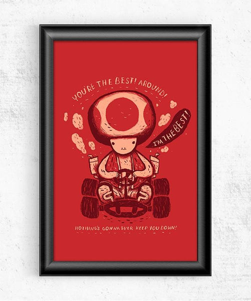 Toad Posters by Louis Roskosch - Pixel Empire