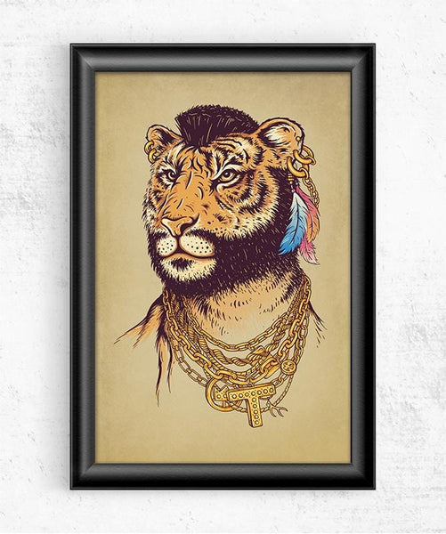 Mr Tiger Posters by Enkel Dika - Pixel Empire