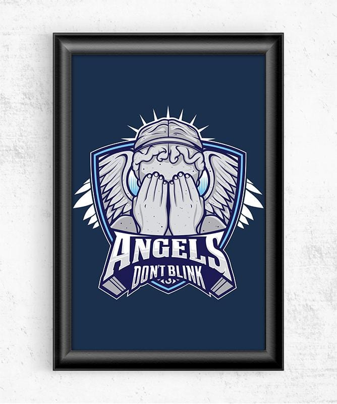 Doctor Who Villains - Angels Posters by StudioM6 - Pixel Empire