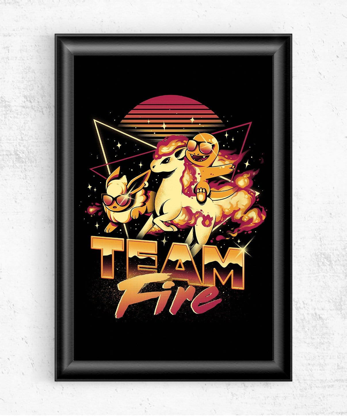 Fire Team Posters by Ilustrata - Pixel Empire