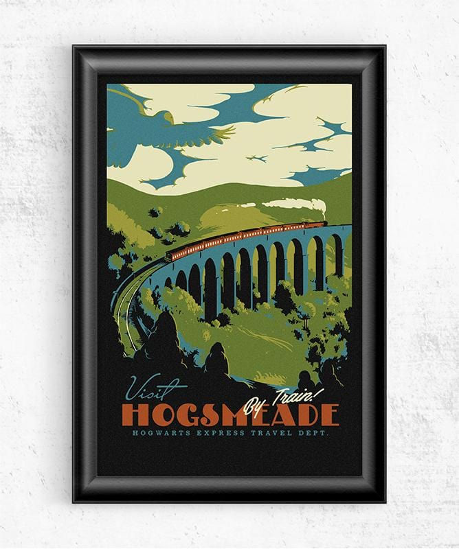 Visit Hogsmeade Posters by Mathiole - Pixel Empire