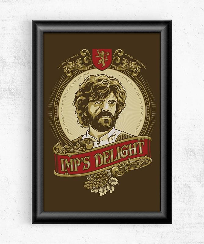 Imp's Delight Posters by COD Designs - Pixel Empire
