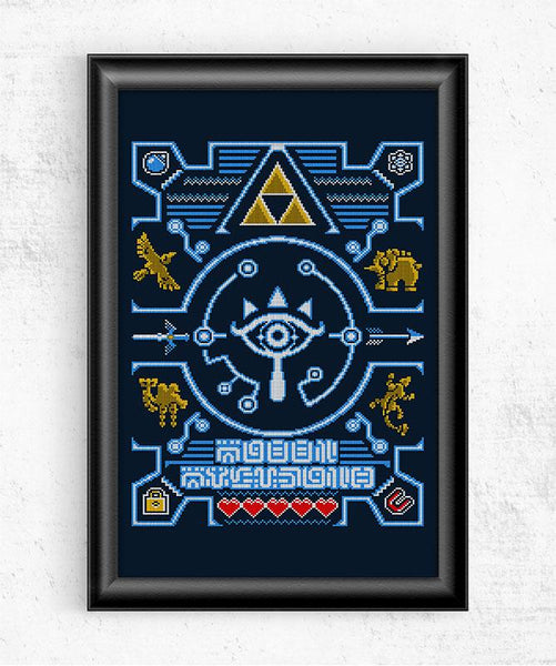 Ugly Sheikah Sweater Posters by Punksthetic - Pixel Empire