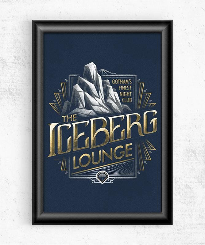 Iceberg Lounge Posters by Cory Freeman Design - Pixel Empire