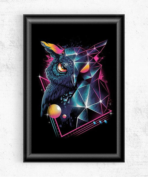 Rad Owl Posters by Vincent Trinidad - Pixel Empire