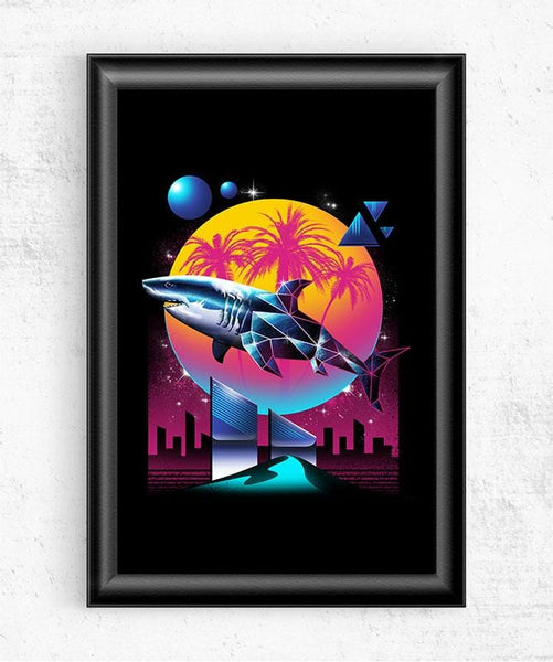 Rad Shark Posters by Vincent Trinidad - Pixel Empire