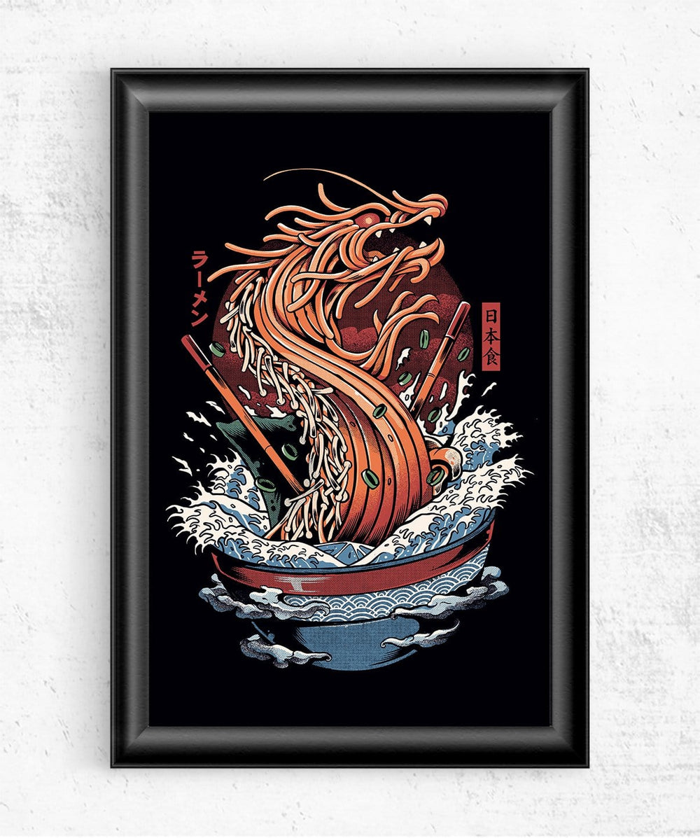 Dragon Ramen Posters by Ilustrata - Pixel Empire