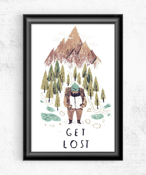Get Lost Posters by Louis Roskosch - Pixel Empire