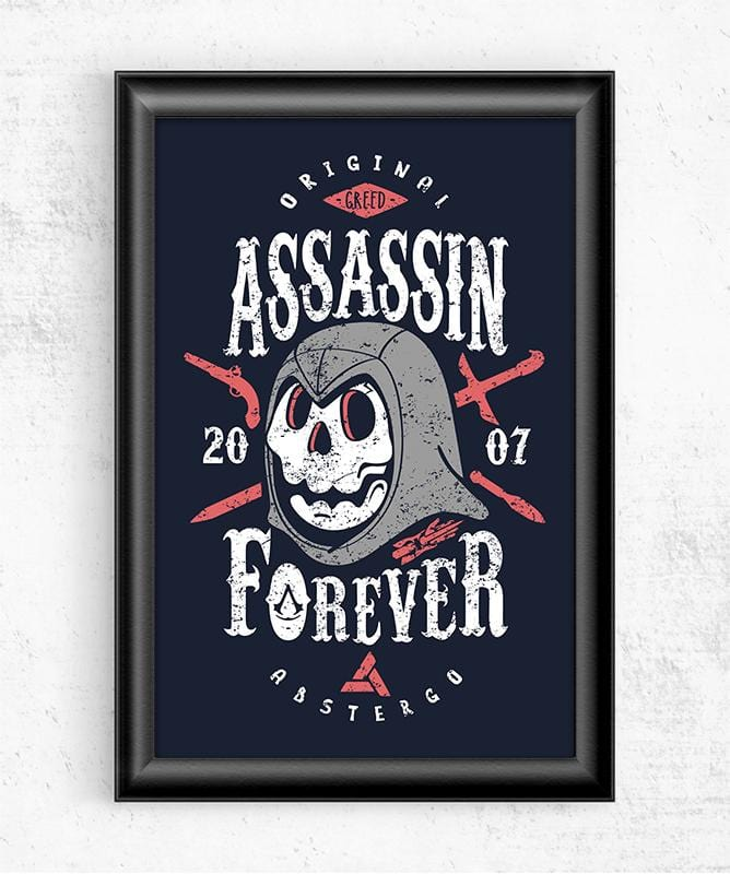 Assassin Forever Posters by Olipop - Pixel Empire