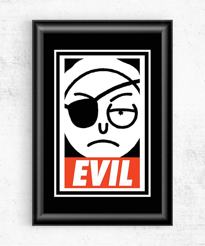 EVIL Posters by Diego Pedauy - Pixel Empire