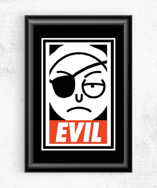 EVIL Posters by Diego Pedauyé - Pixel Empire