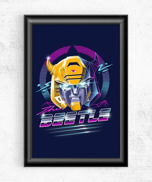Rad Beetle Posters by Vincent Trinidad - Pixel Empire