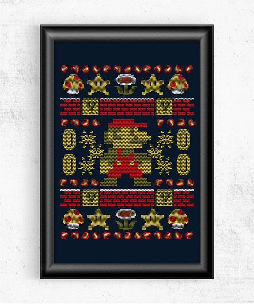 Super Ugly Sweater Posters by Punksthetic - Pixel Empire