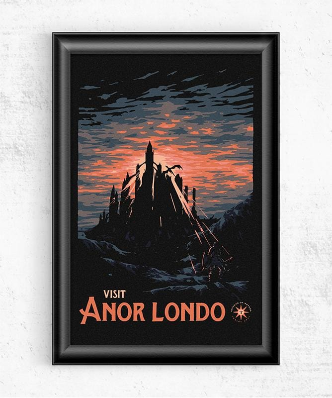 Visit Anor Londo Posters by Mathiole - Pixel Empire