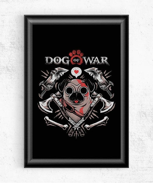 Dog of War Posters by Ilustrata - Pixel Empire