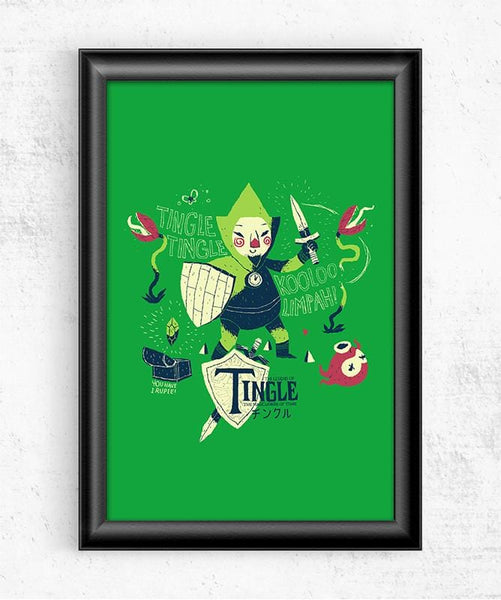 The Legend of Tingle Posters by Louis Roskosch - Pixel Empire