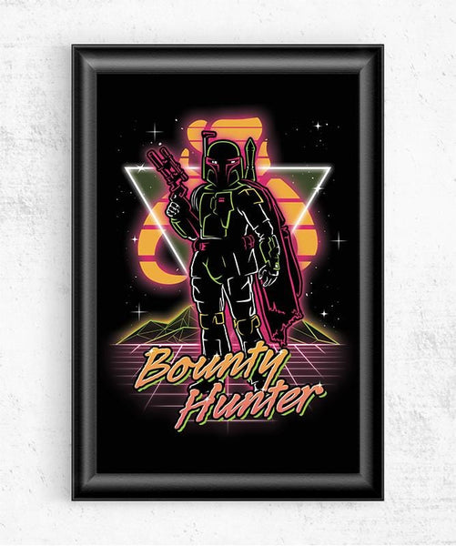 Retro Bounty Hunter Posters by Olipop - Pixel Empire