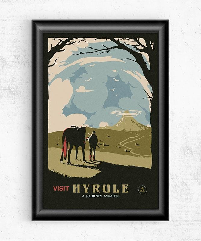 Visit Hyrule Posters by Mathiole - Pixel Empire