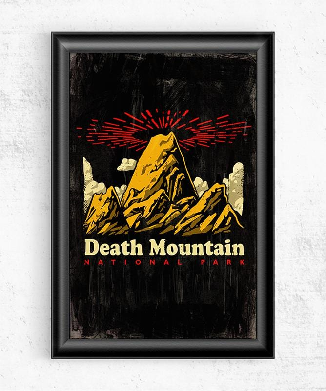 Death Mountain Posters by Ronan Lynam - Pixel Empire