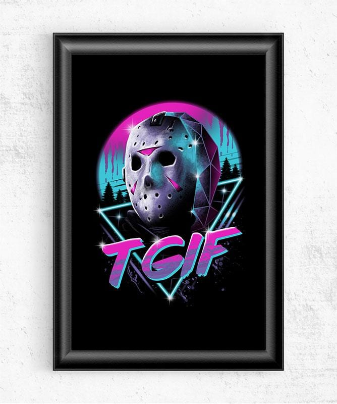 Rad Friday Posters by Vincent Trinidad - Pixel Empire