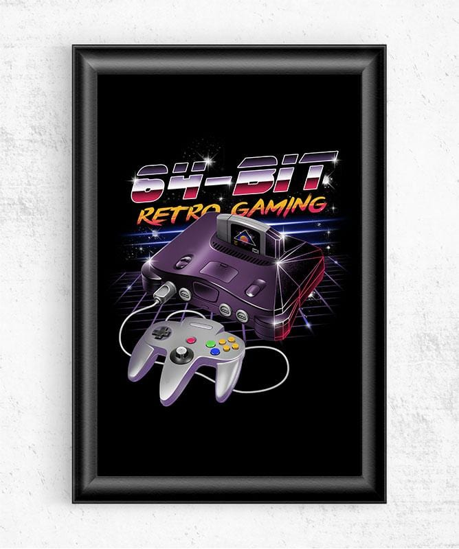 64-Bit Retro Gaming Posters by Vincent Trinidad - Pixel Empire