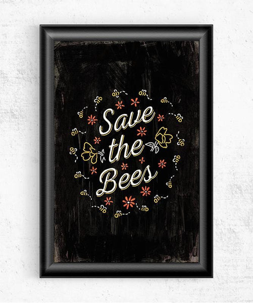 Save the Bees Posters by Ronan Lynam - Pixel Empire