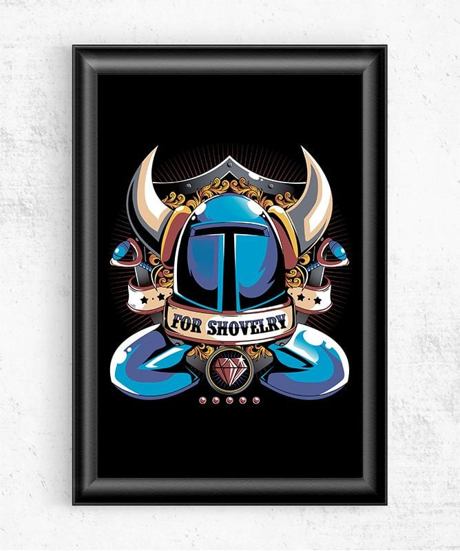 For Shovelry Posters by Typhoonic - Pixel Empire