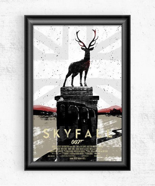 007 Skyfall Posters by Felix Tindall - Pixel Empire