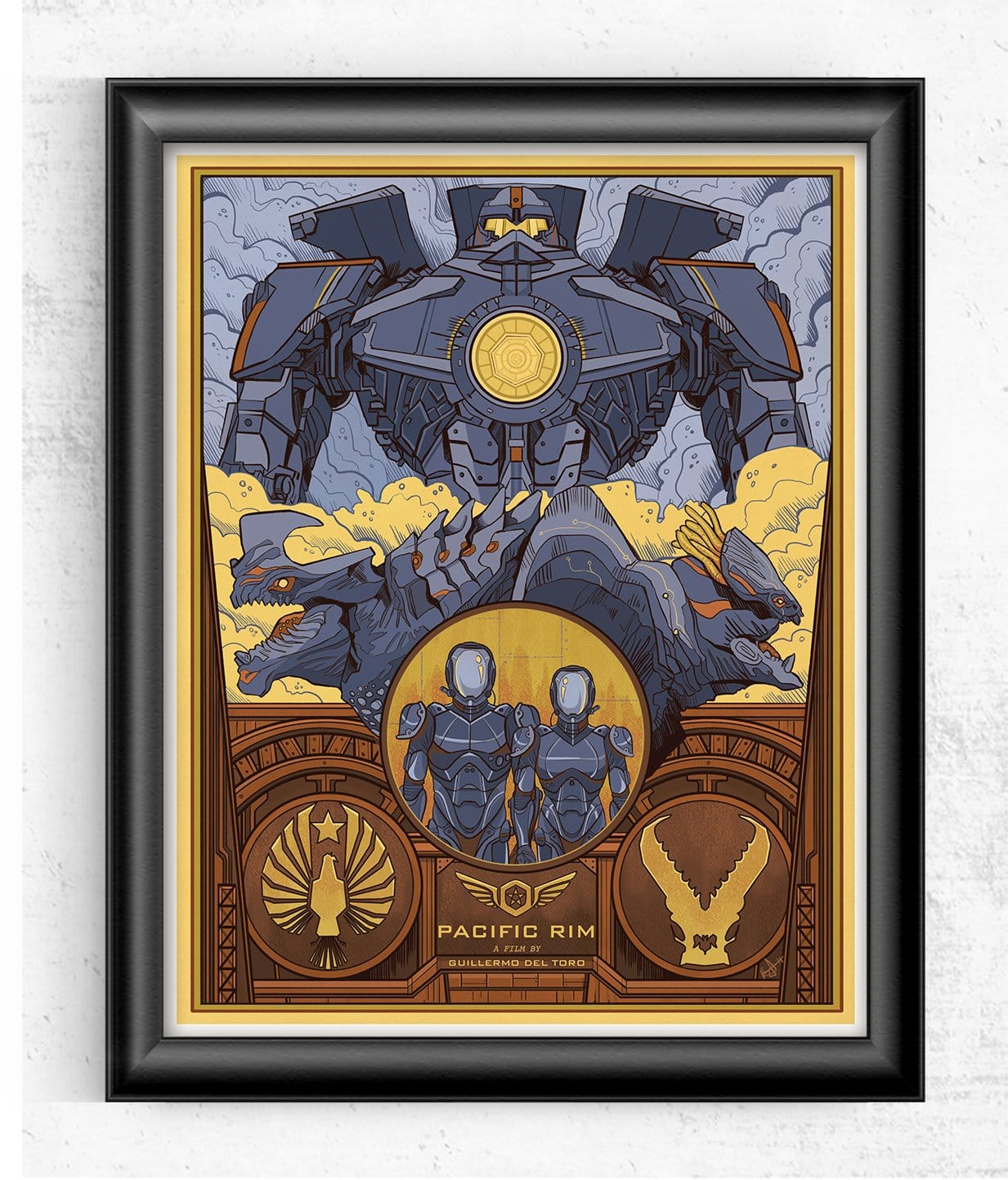 Pacific Rim - Guillermo del Toro Limited Print Posters by Beverly Arce - Pixel Empire