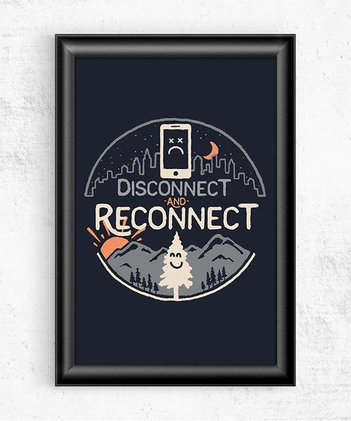 Reconnect Posters by Rick Crane - Pixel Empire