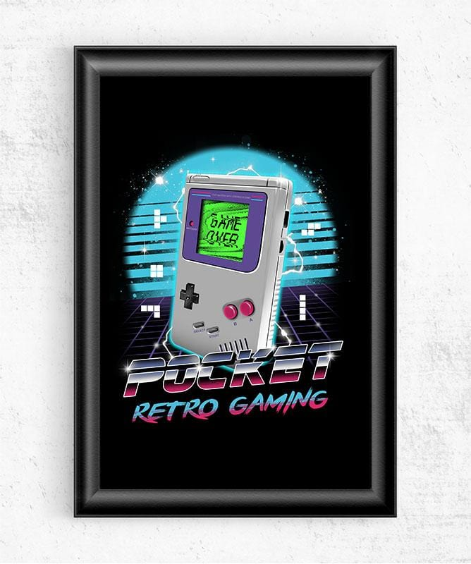 Pocket Retro Gaming Posters by Vincent Trinidad - Pixel Empire