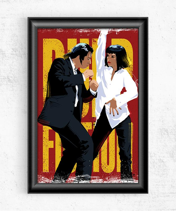 Pulp Fiction Dancing Posters by Nikita Abakumov - Pixel Empire