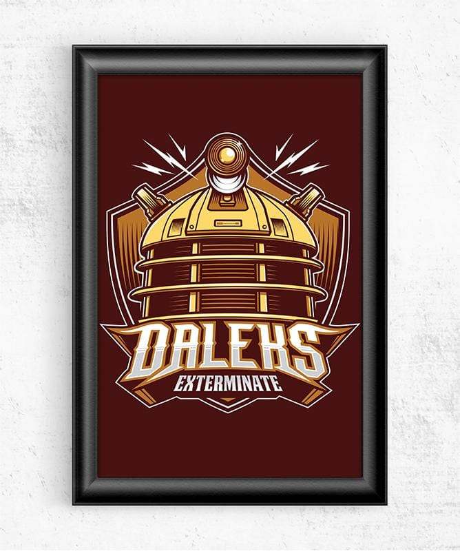 Doctor Who Villains - Daleks Posters by StudioM6 - Pixel Empire