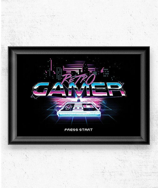 Retro Gamer Posters by Barrett Biggers - Pixel Empire