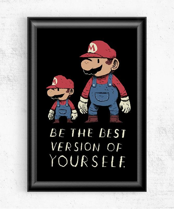 Best Version Of Yourself Posters by Louis Roskosch - Pixel Empire