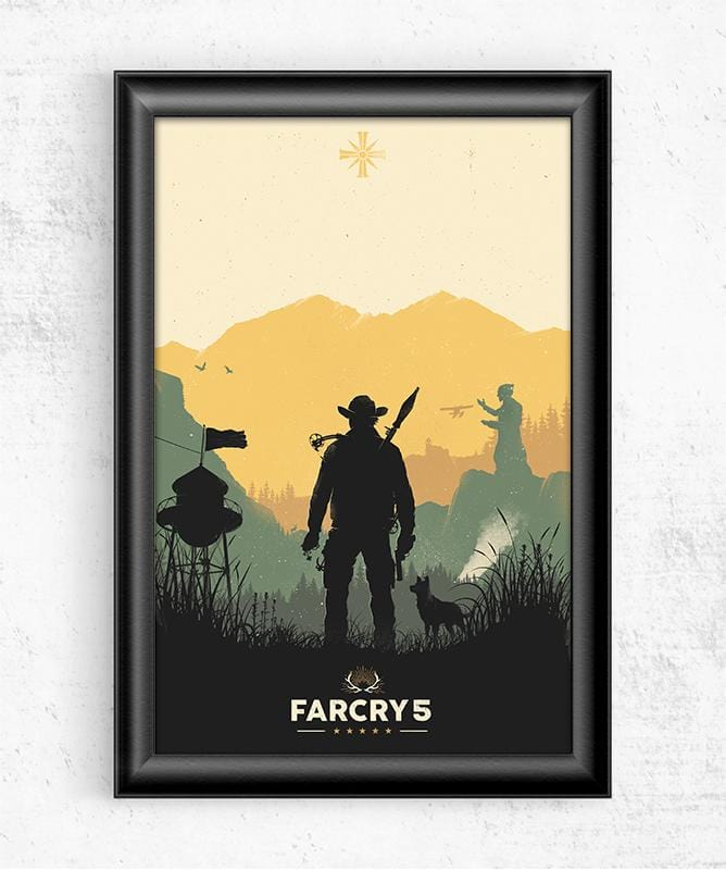 Far Cry 5 Posters by Felix Tindall - Pixel Empire