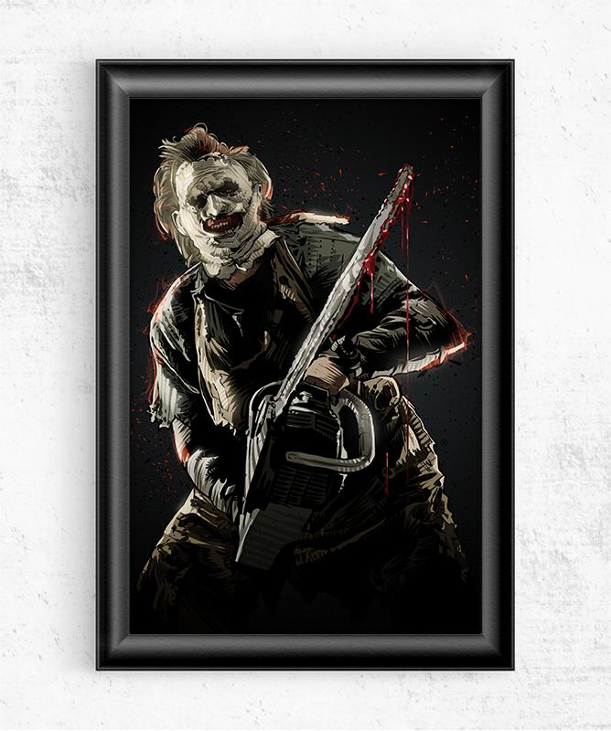 Leatherface Posters by Nikita Abakumov - Pixel Empire