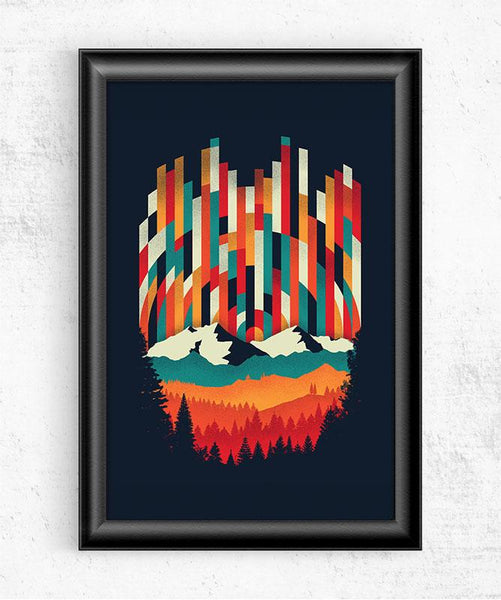 Sunset in Vertical - Multicolor Posters by Dianne Delahunty - Pixel Empire