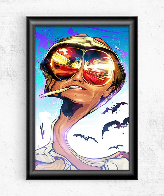 Fear and Loathing Posters by Nikita Abakumov - Pixel Empire